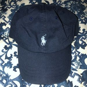 Navy Cotton Chino Cap | Polo by Ralph Lauren